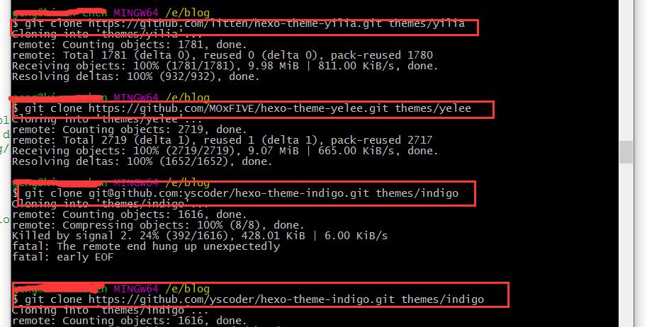 用hexo和github搭建属于自己的个人博客(二)
