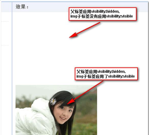 元素使用CSS进行隐藏的几种方式与差别